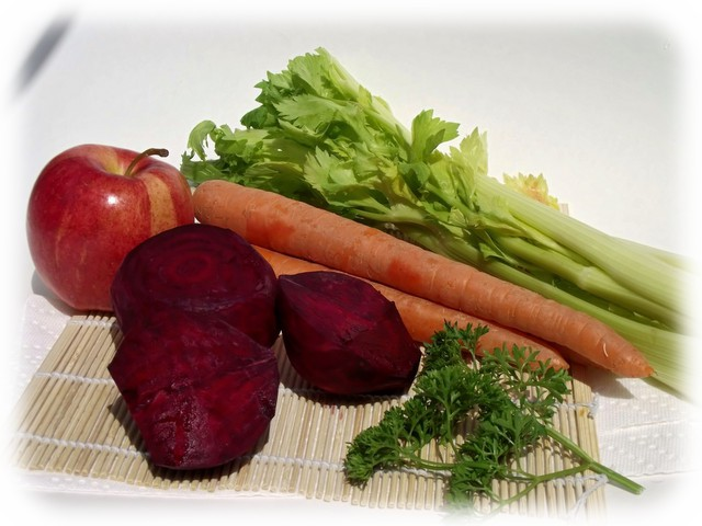 carrot celery and beet juice benefits