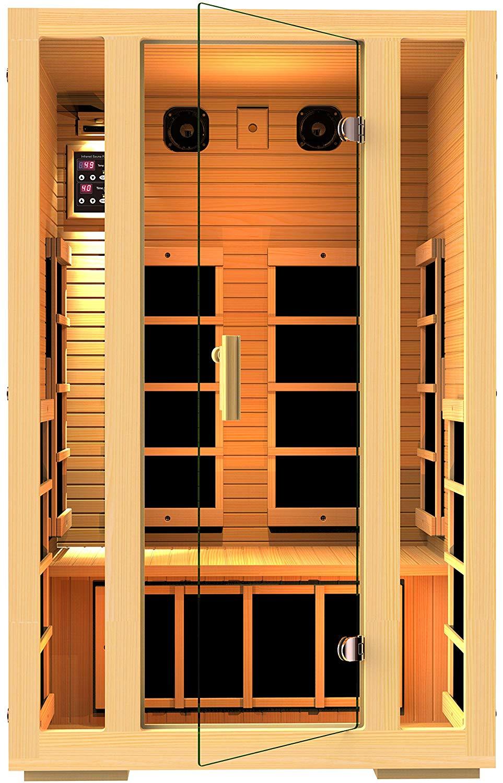2 person traditional far infrared sauna