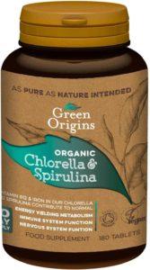 best chlorella spirulina together tablets uk